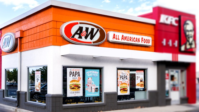 A&W Restaurants Menu Prices