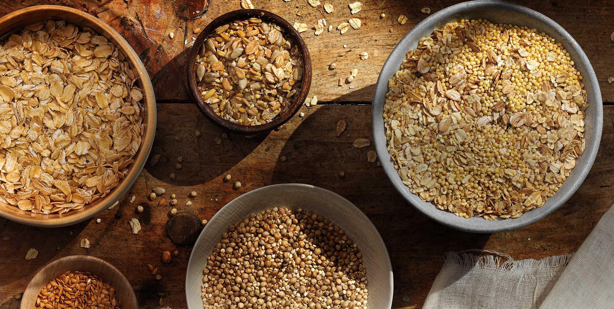 Ancient Grains are Gluten-Free & not Gluten-Free