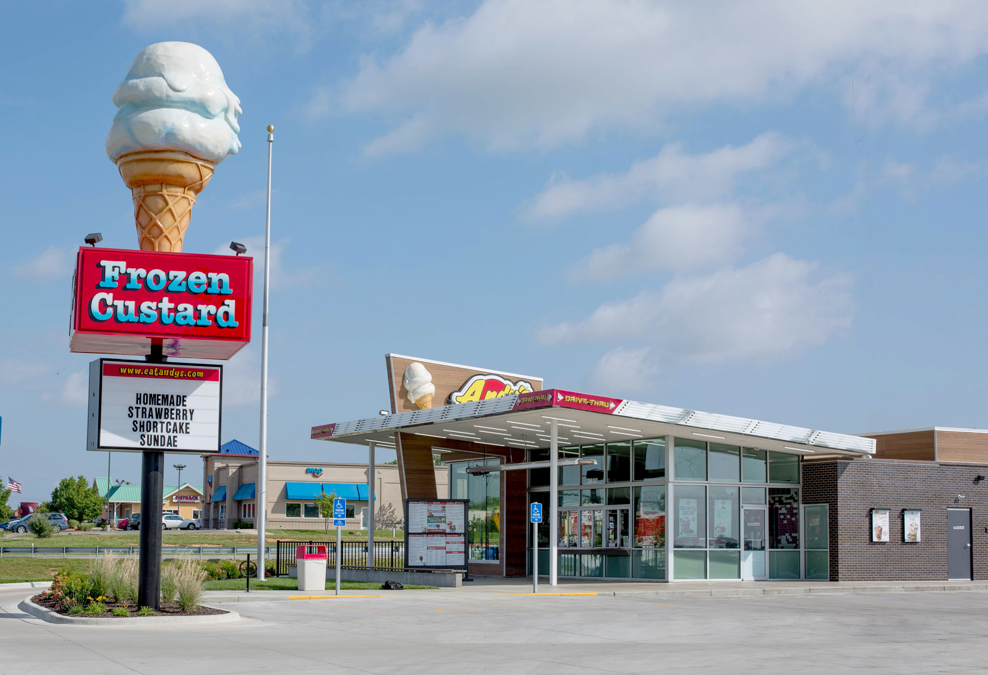 Andy's Frozen Custard Menu Prices