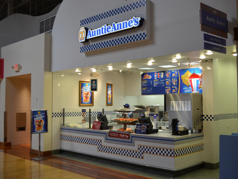 Auntie Anne's Menu Prices