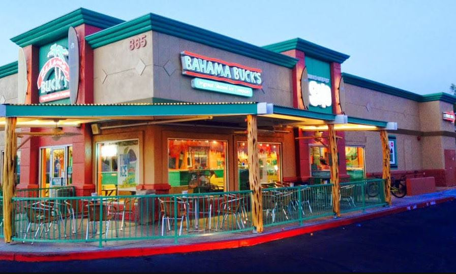 Bahama Buck's Menu Prices