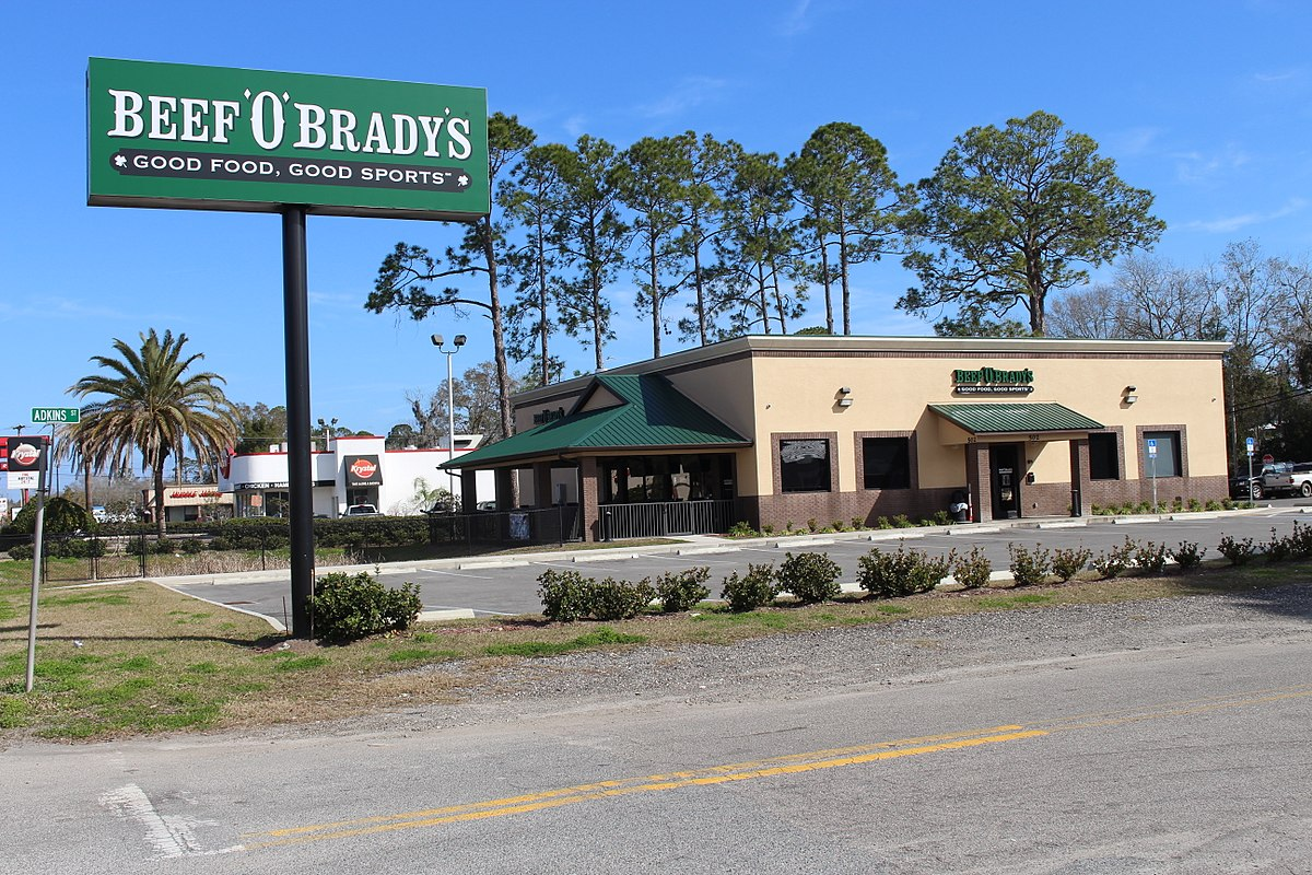 Beef O' Brady's Menu Prices