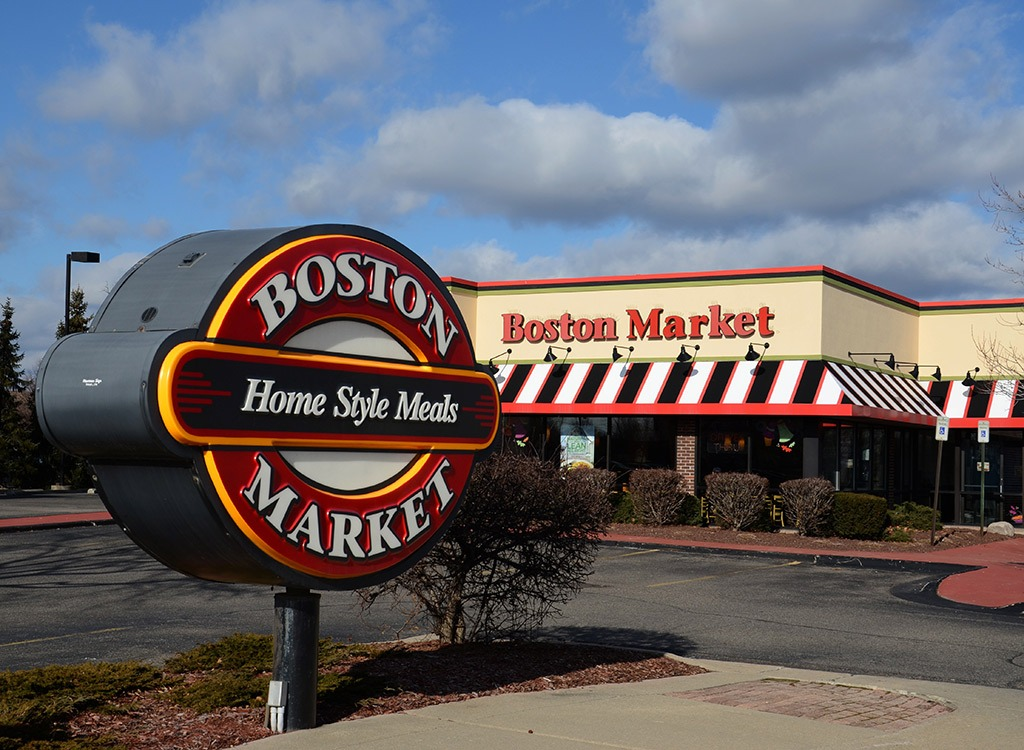 Boston Market Menu Prices
