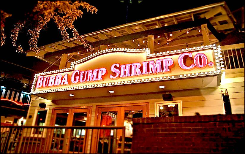 Bubba Gump Menu Prices
