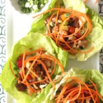 Chinese Chicken Lettuce Cups