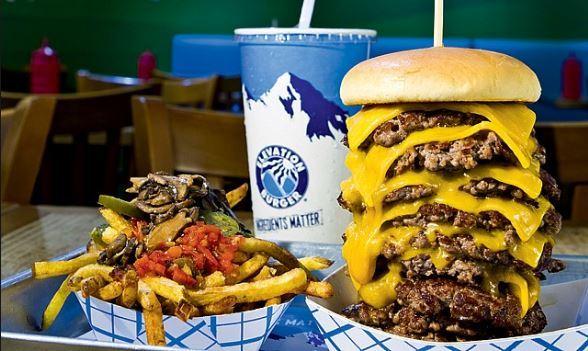 Elevation Burger Menu Prices