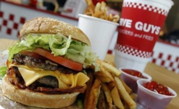 Five Guys Burgers and Fries Menu Prices, History & Review