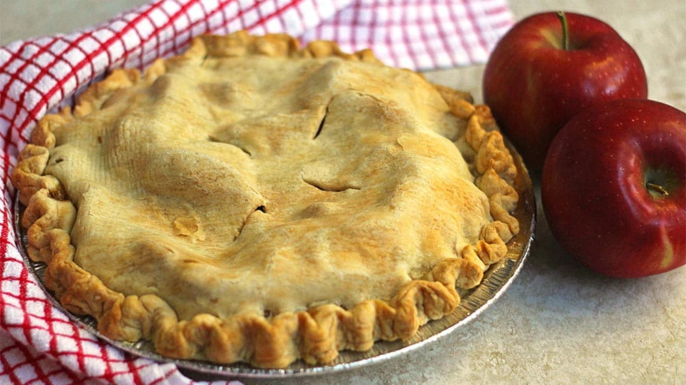 Freeze Apple Pie