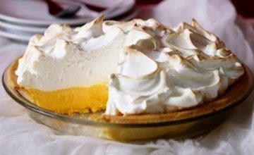 Freeze Lemon Meringue Pie