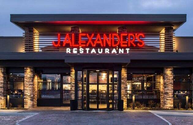 J. Alexander's Menu Prices