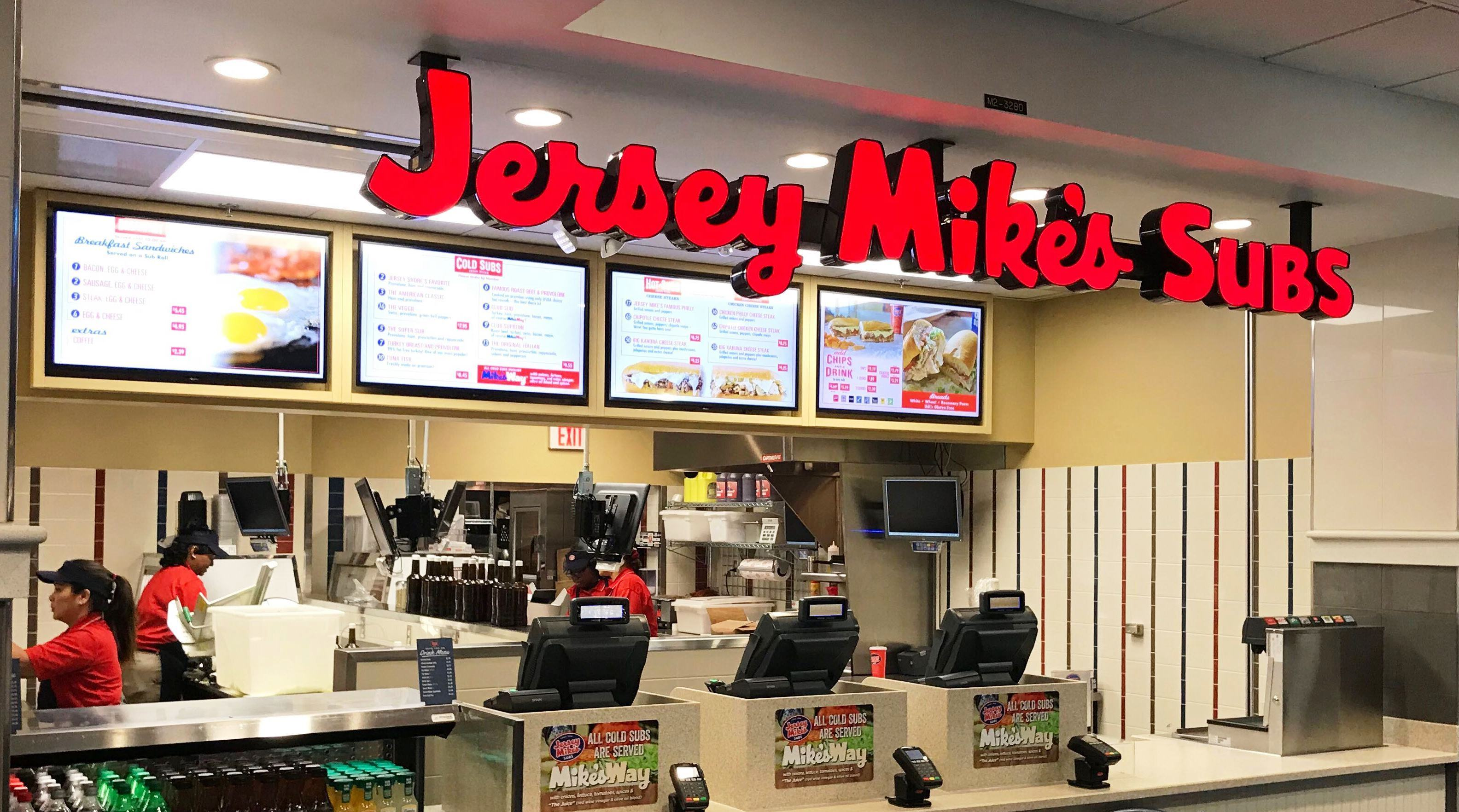 Jersey Mike's Menu Prices