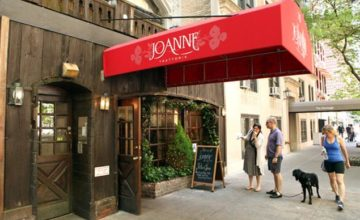 Joanne Trattoria Menu Prices