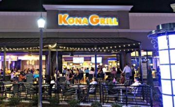Kona Grill Menu Prices
