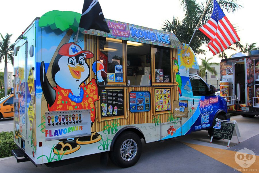 Kona Ice Menu Prices
