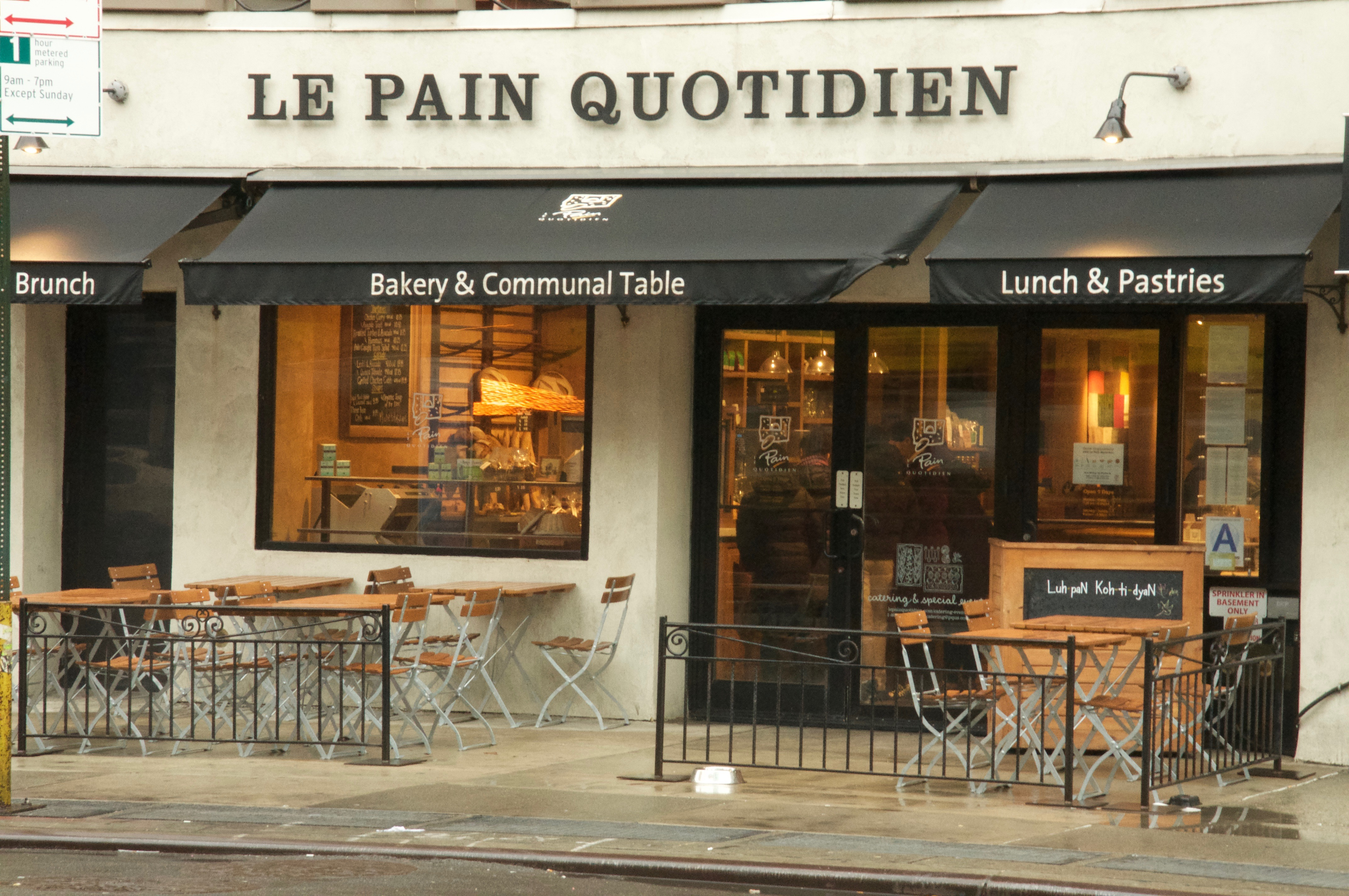 Le Pain Quotidien Menu Prices