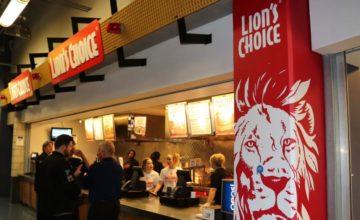 Lion's Choice Menu Prices
