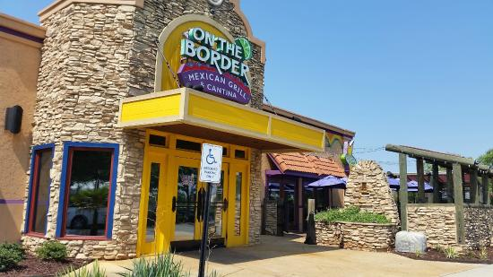 On The Border Mexican Grill & Cantina Menu Prices