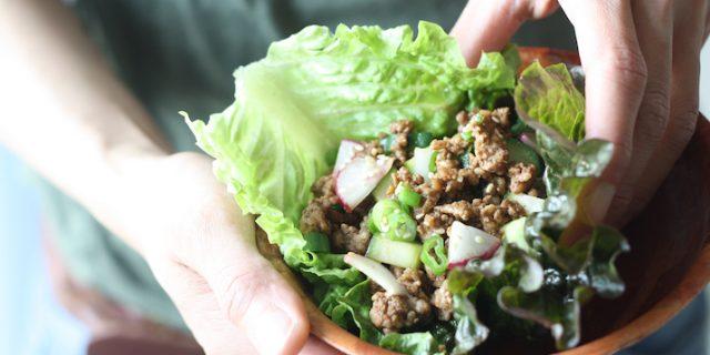 Hoisin & Five Spice Pork Lettuce Wraps