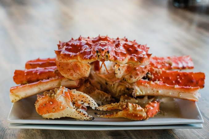 King crab meal